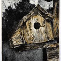 Yellow Birdhouse<br /><br />